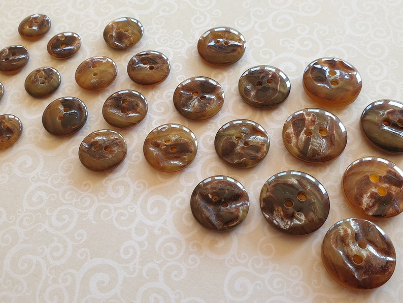21 /& 23mm SuitJacket buttons Matching 18 TTS 15