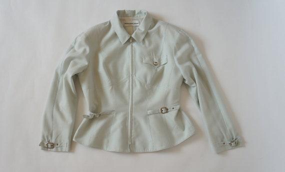 Thierry Mugler jacket blazer vintage Mugler checke