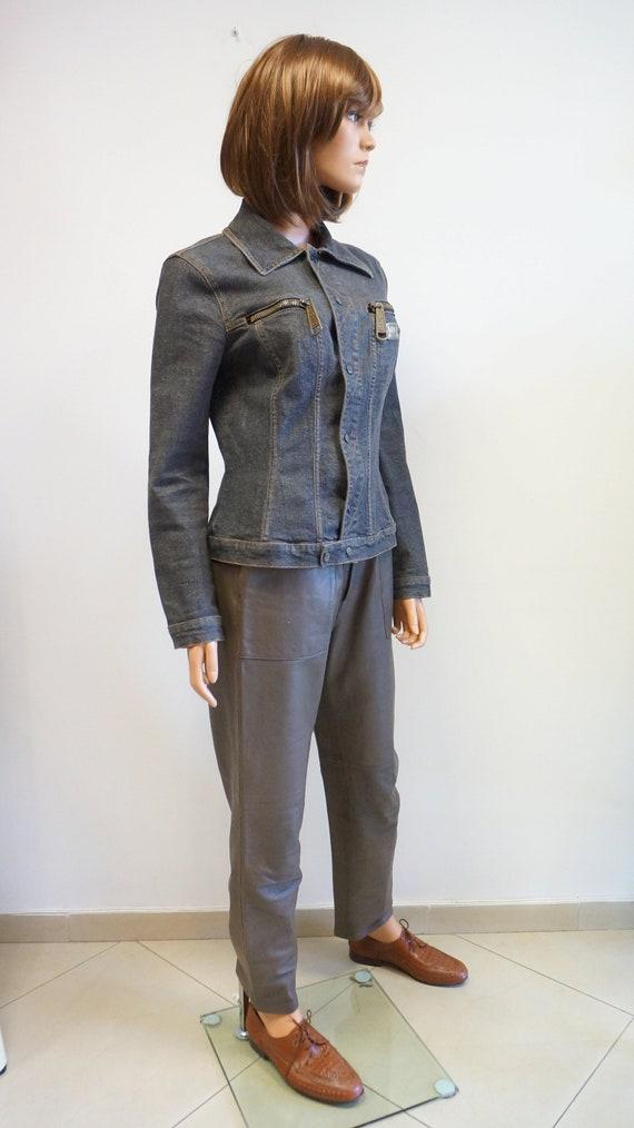Dolce Gabbana jacket, denim jacket, D G jeans jack