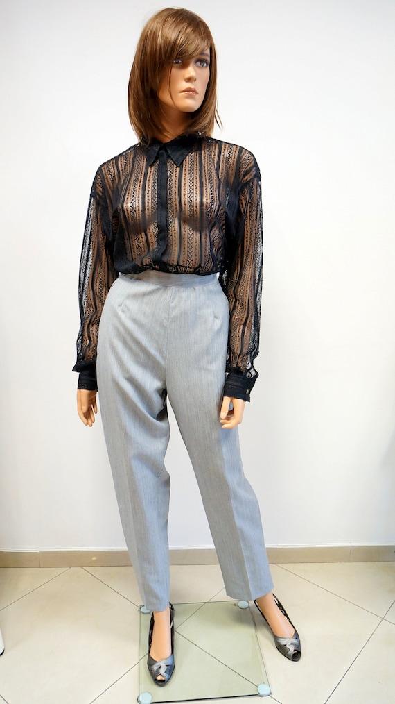 Versace lace shirt, Vintage Gianni Versace Jeans C