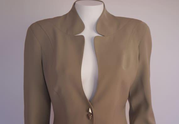 vintage Mugler jacket blazer Thierry Mugler vintag