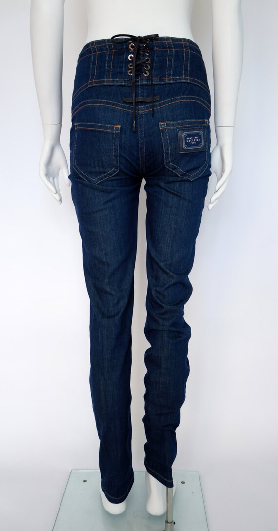 vintage Gaultier jeans denim JPG jean paul gaultie