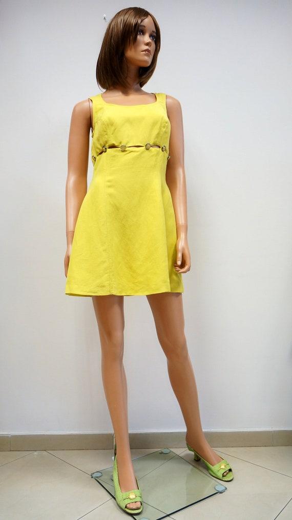Versace dress, Versace Jeans couture vintage dres,
