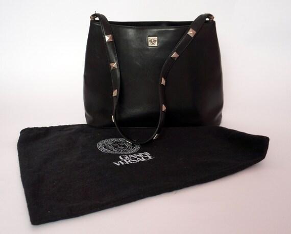 vintage Versace bag leather medusa purse gianni versace  afc82d75218c6