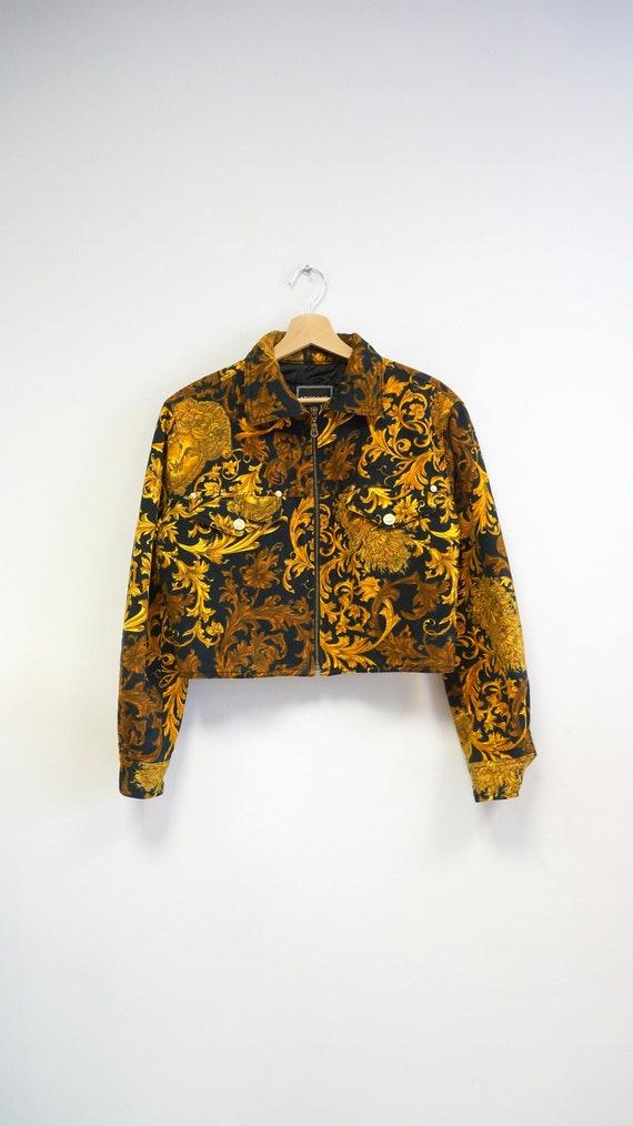 Versace jacket, Versace Jeans Couture medusa,Giann