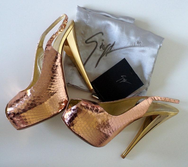 6f64ab53ee Vintage Giuseppe Zanotti shoes pumps heels zanotti authentic | Etsy