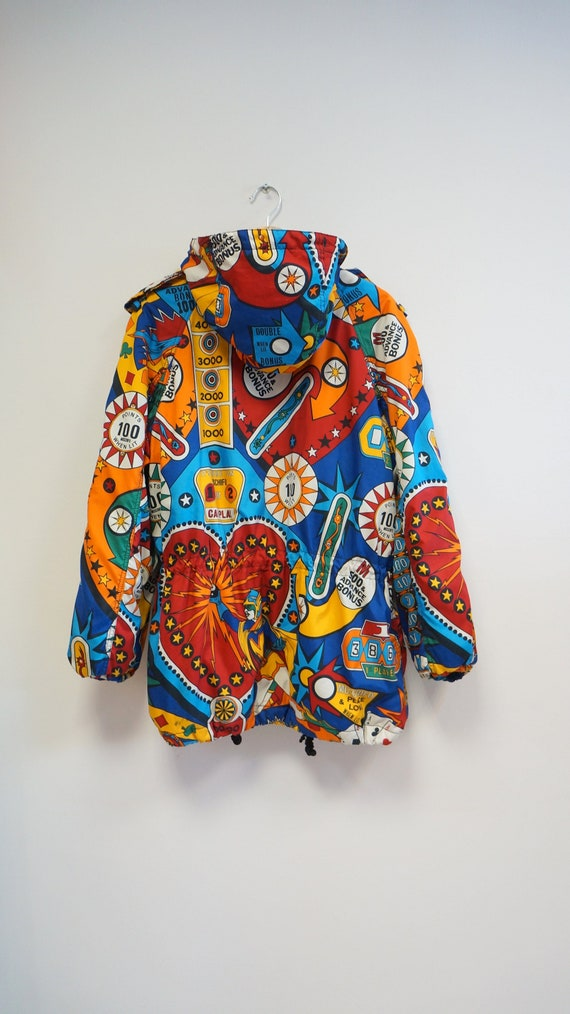 Moschino  casino poker jacket,Moschino Jeans vinta