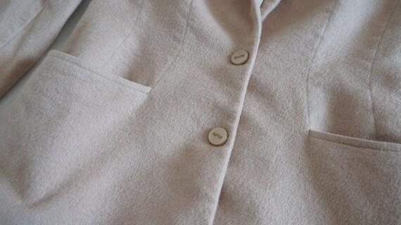 Mugler cashmere jacket,Thierry Mugler jacket, bla… - image 4
