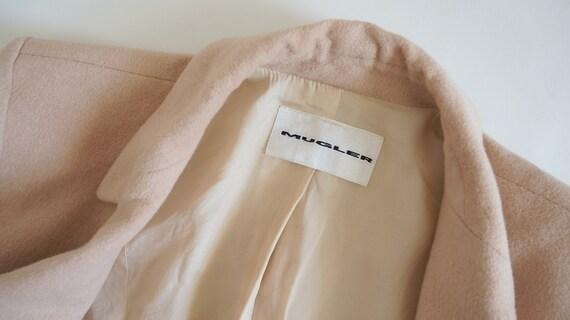 Mugler cashmere jacket,Thierry Mugler jacket, bla… - image 6