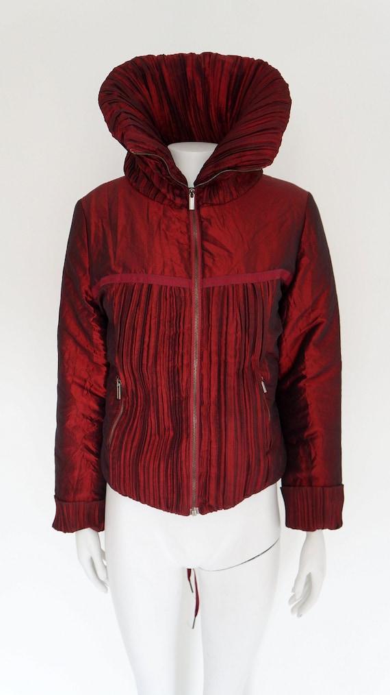 Jean Paul Gaultier jacket,Gaultier winter coat,Big