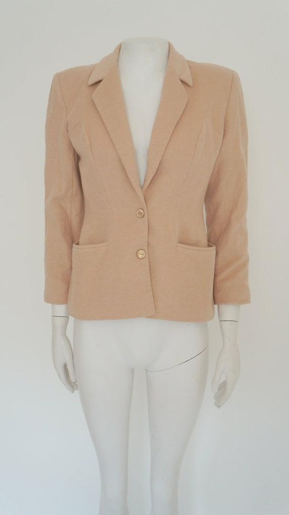 Mugler cashmere jacket,Thierry Mugler jacket, bla… - image 8