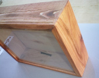AuBergewohnlich Hand Made   Rustic Shadow Box , Display Photos   Memorabilia   Your  Favorite Vacation Items   Shadow Box Display Case