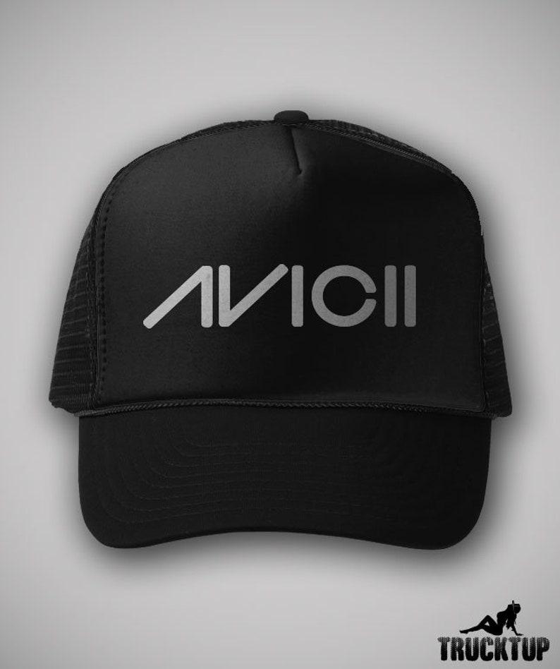 121a0402bdfb2 Avicii Trucker Hat Classic Cap EDM Dance Music Vintage Style