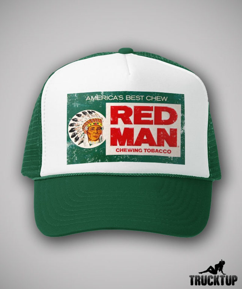 8e18a03a Red Man Chewing Tobacco Vintage Style Trucker Hat Classic Cap | Etsy