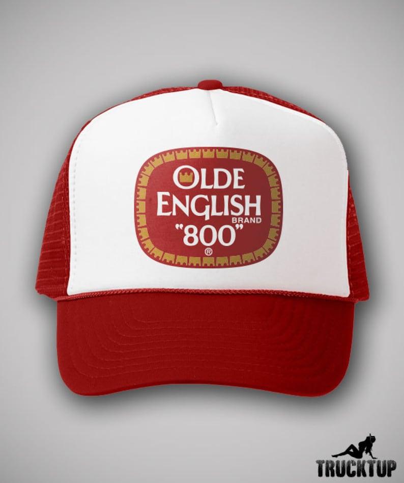 ea181f2d Olde English OE Vintage Style Trucker Hat Classic Cap Humor Snapback TShirt  Truc... Olde English OE Vintage Style Trucker Hat Classic Cap Humor  Snapback ...