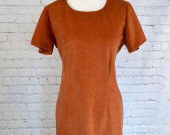 XS-XL Girls Short Sleeve Retro Style Indonesia Silhouette Shirts Casual Tunic Shirt Dress