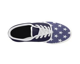 Men's Aries Canvas Flat Shoes