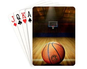 Playing Cards Basketball