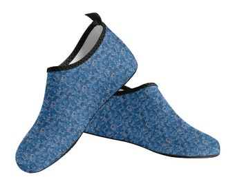 Men's Slip On Water Shoes fish scales