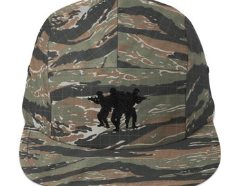 Camouflage Five Panel Cap Soldiers