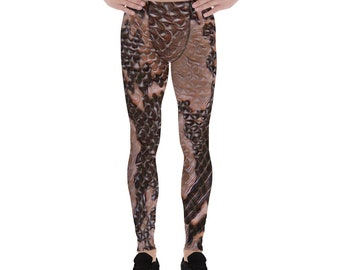 Men's Leggings Snakeskin
