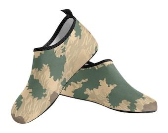 Men's Slip On Water Shoes Green Camo