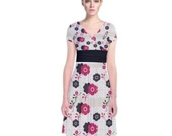 Women's Cross Wrap Dress