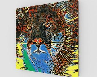 Cougar Scape Art