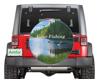 Spare Tire Cover Fishing