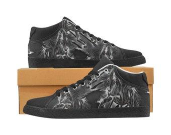 Women's Chukka Canvas Shoes Smokey Horse