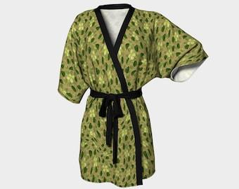 Camo Bush Kimono Robe