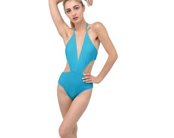women's Plunge Cut Swimsuit
