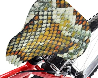 Bicycle Seat Cover Snakeskin