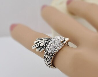 Eagle Diamond Adjustable Wrap Ring