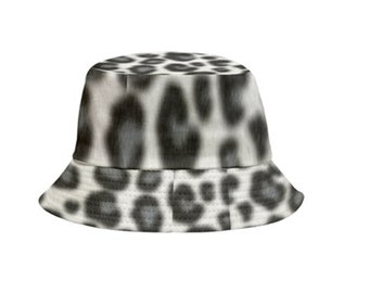 Reversible Bucket Hat Leopard