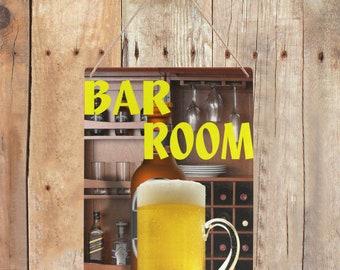 Tin Sign Bar Room