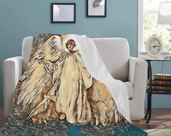 Micro Fleece Ultra Soft Angel Blankets
