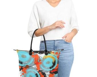 Shoulder Handbag Large Pattern