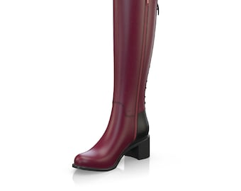 Women's Leather Boho Boots