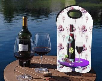 Neoprene Wine Bag Double