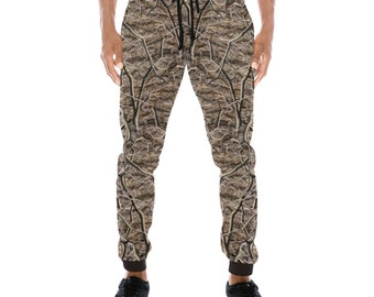 Men's Camouflage Timber Joggers