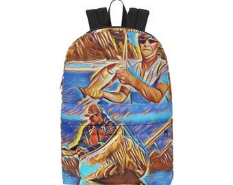 Custom Unisex Classic Backpack Fishing