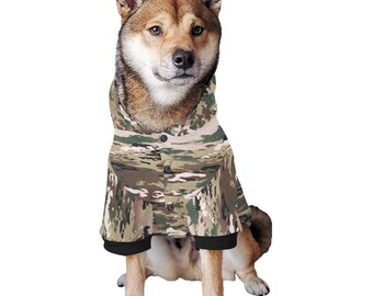 Dog Hoodie Camouflage