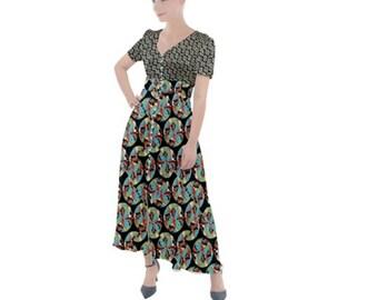 Women's Button Maxi Dress