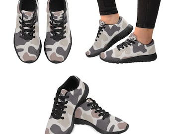 Kid's Running Shoes Simple Camouflage