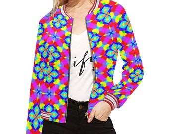 Women's Magical Colors Bomber Jacket
