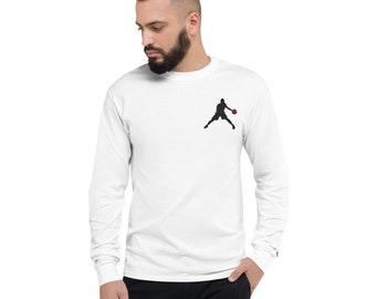 Men's Champion Long Sleeve Shirt Basketball