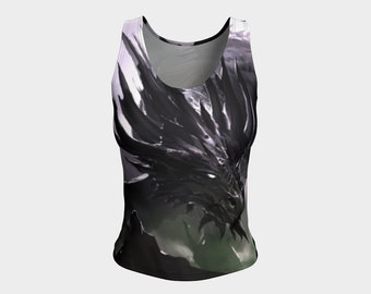 Angel Dragon Slayer Fitted Tank Top