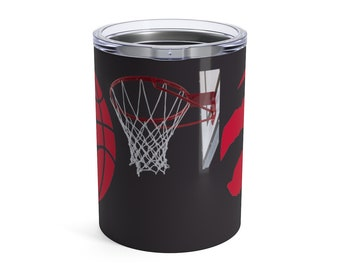 Tumbler 10Oz Basketball