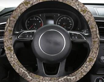 Steering Wheel Cover Timberleaf Camouflage